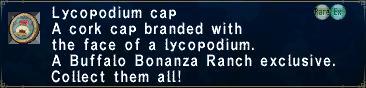 Lycopodium cap