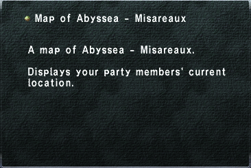Map of Abyssea - Misareaux