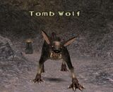Tomb wolf