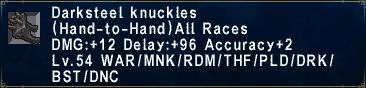 Darksteel Knuckles
