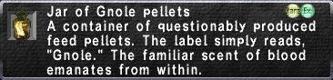 Gnole Pellets
