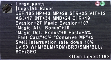 Lengo Pants