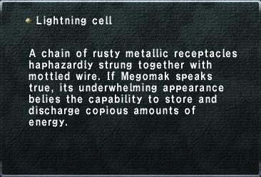 Lightning Cell