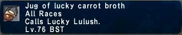 Lucky Carrot Broth