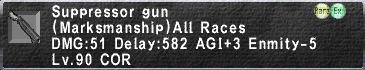 Suppressor gun