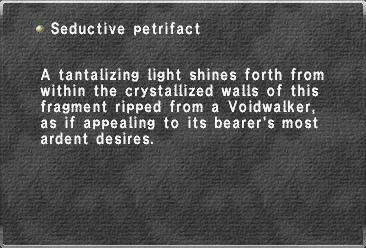 Seductive petrifact