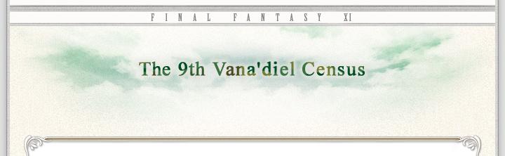 The 9th Vanadiel Census Header
