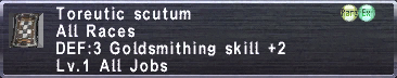 Toreutic Scutum