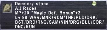 Demonry Stone