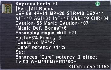 Kaykaus Boots +1