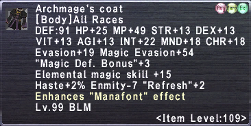 Archmage's Coat