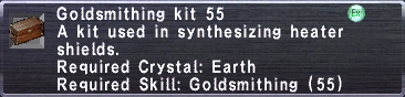 Goldsmithing Kit 55