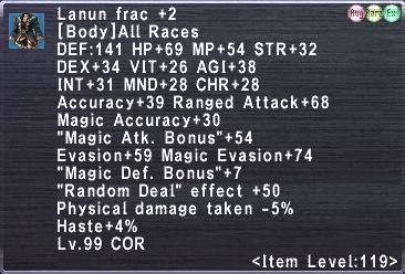 Lanun Frac +2