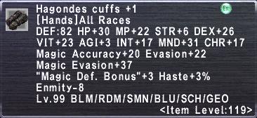 Hagondes Cuffs +1