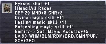 Hyksos Khat +1