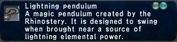 LightningPendulum