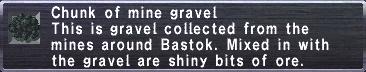 Mine Gravel