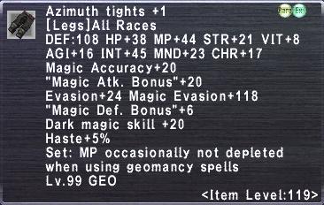 Azimuth Tights Plus 1