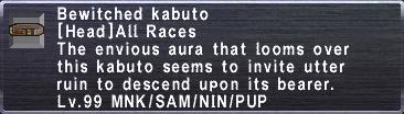 Bewitched Kabuto