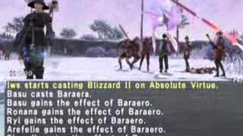 Final Fantasy XI - Absolute Virtue Defeated