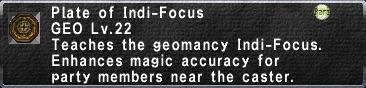 Indi-Focus