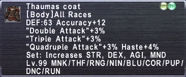 Thaumas coat