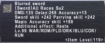 Blurred Sword