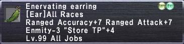 Enervating Earring