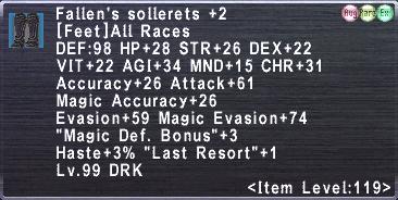 Fallen's sollerets +2