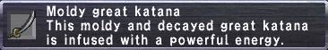 Moldy Great Katana