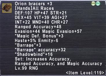 Orion Bracers +3