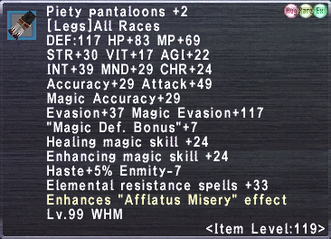 Piety Pantaloons +2