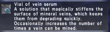 Vial of Vein Serum