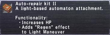 Auto-Repair Kit II