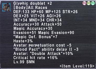 Glyphic Doublet +2
