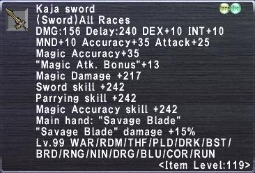 Kaja Sword