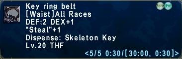 Keyringbelt