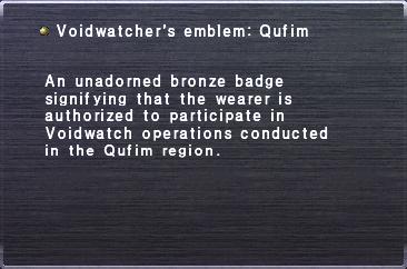 Voidwatchers Emblem Qufim