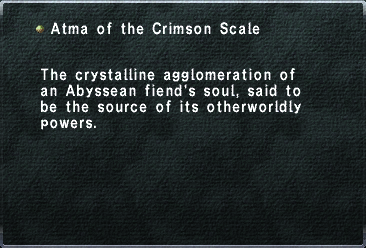 Atma of the Crimson Scale