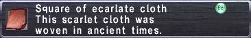 Ecarlate Cloth