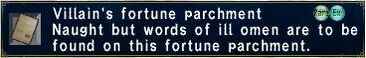 Villan's Fortune