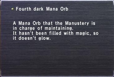 Fourth Dark Mana Orb