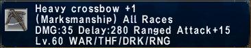 Heavy CrossbowPlus1