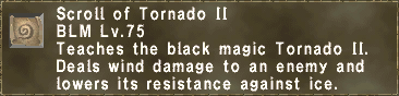 Scroll of Tornado II