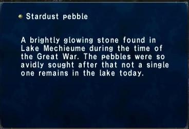 Stardust Pebble