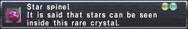 Starspinel