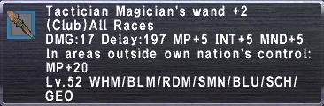 Tactician Magicians wand plus2