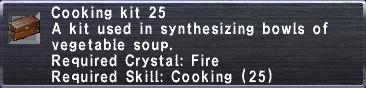 Cooking Kit 25