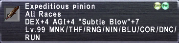 Expeditious Pinion
