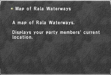 Map of Rala Waterways